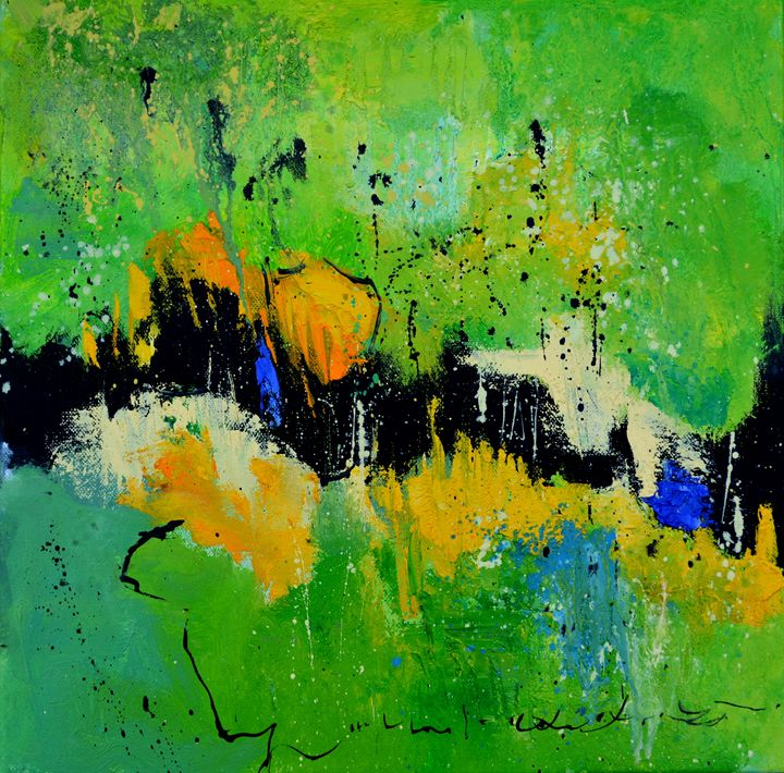 abstract 61701 - Pol Ledent's paintings