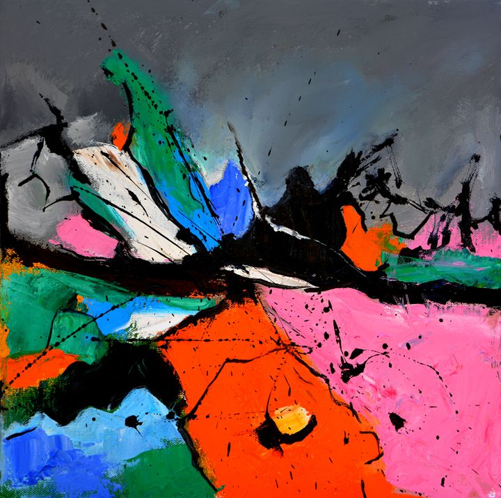 abstract 4441506 - Pol Ledent's paintings