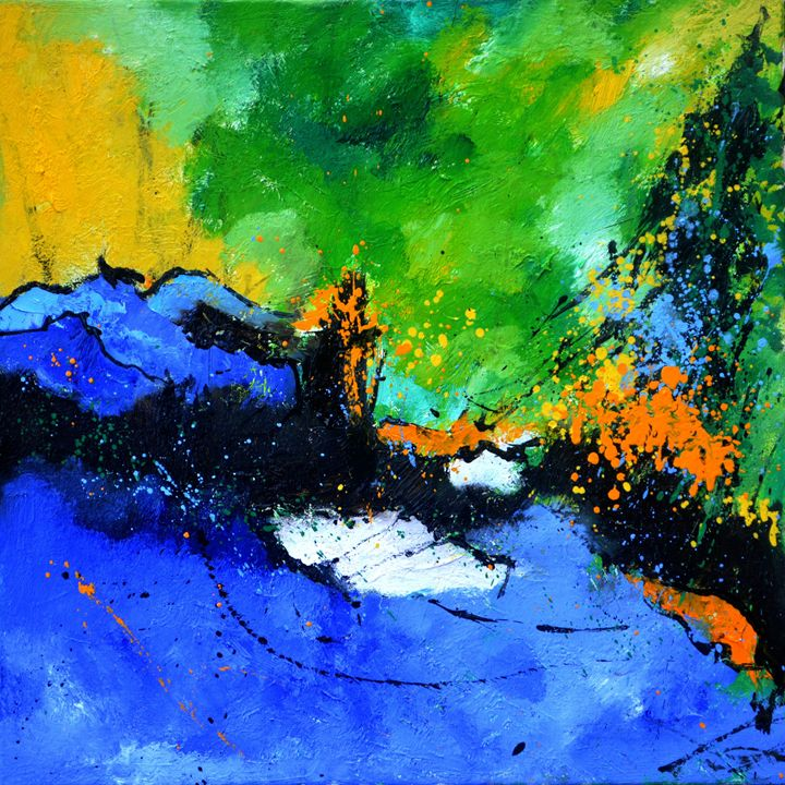 abstract 712061 - Pol Ledent's paintings