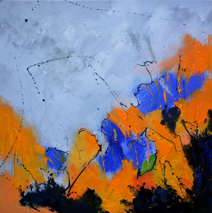 abstract 712042 - Pol Ledent's paintings
