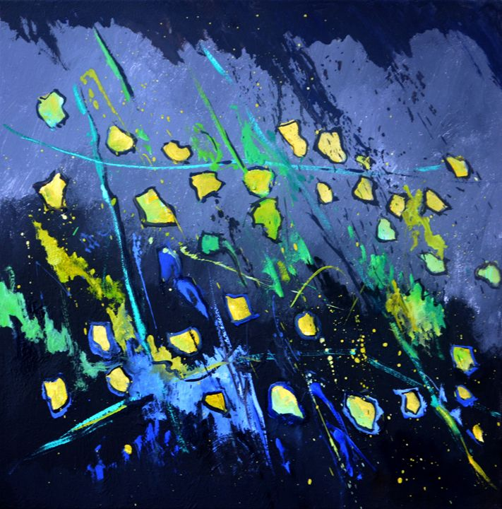 abstract 712041 - Pol Ledent's paintings