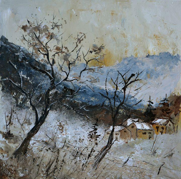 Nature 556121 - Pol Ledent's paintings