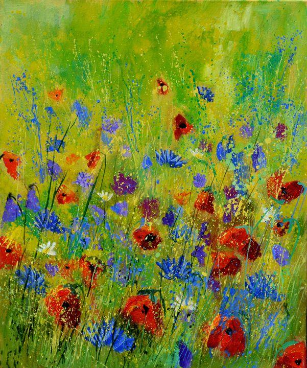 wild flowers 568963 - Pol Ledent's paintings