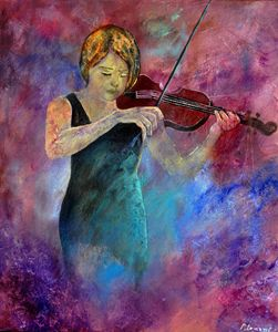 violin 6745 - Pol Ledent's paintings