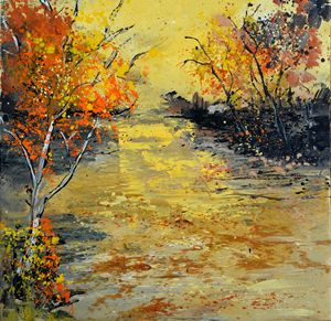 Pond 556180 - Pol Ledent's paintings