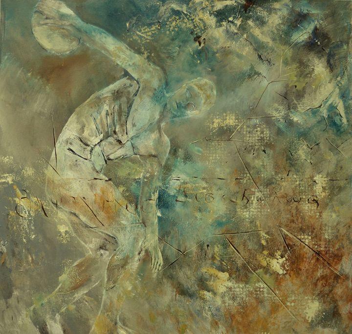 Discobole - Pol Ledent's paintings