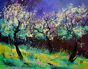 Appletrees 567130 - Pol Ledent's paintings