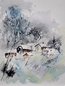 watercolor 218042 - Pol Ledent's paintings