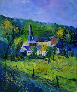 spring in Eneilles - Pol Ledent's paintings