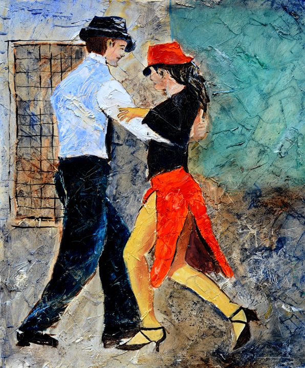 Tango 5641 - Pol Ledent's paintings