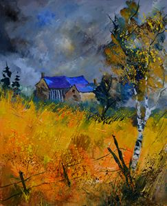 Old houses 565120 - Pol Ledent's paintings