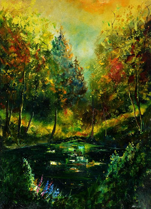 Pond 57 - Pol Ledent's paintings