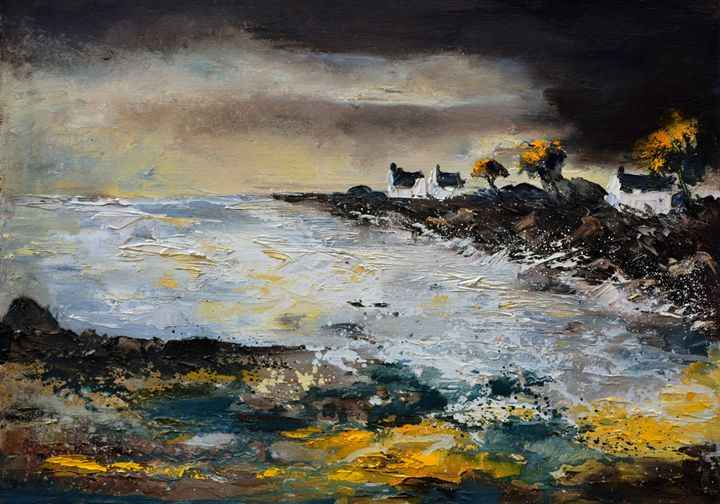 seascape 75 - Pol Ledent's paintings