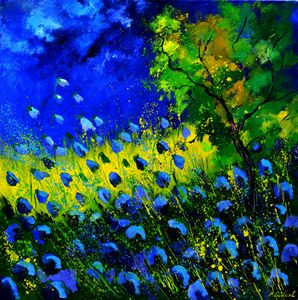 Blue summer - Pol Ledent's paintings