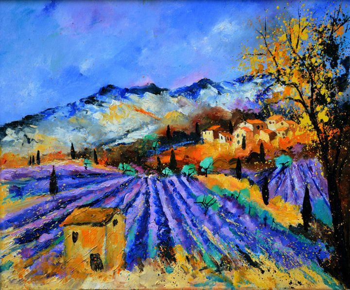 Provence 6523 - Pol Ledent's paintings