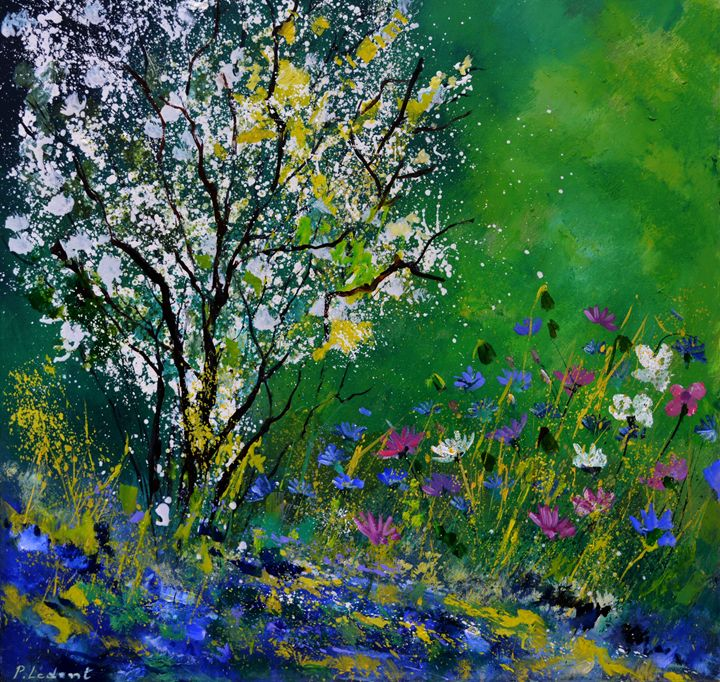 My Garden 88 - Pol Ledent's paintings