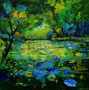 Magic waters - Pol Ledent's paintings