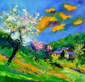 spring 8820 - Pol Ledent's paintings