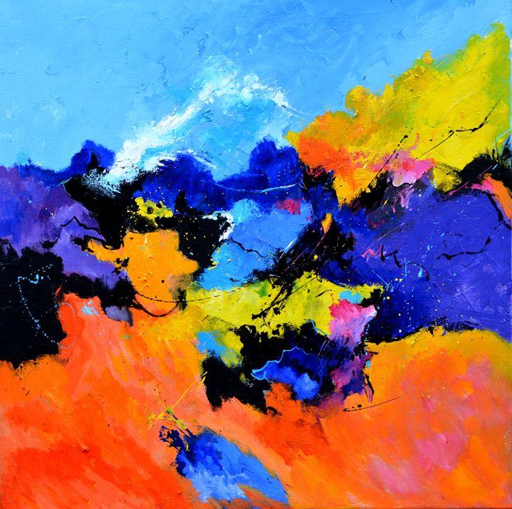 The rape of proserpina - Pol Ledent's paintings