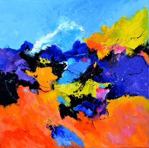 The rape of proserpina - Pol Ledent's paintings