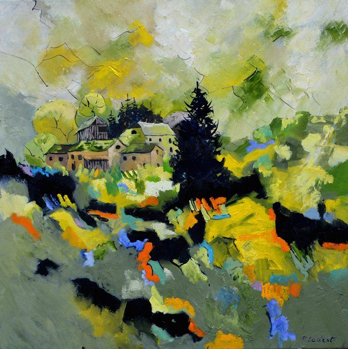 Ardennes landscape - Pol Ledent's paintings