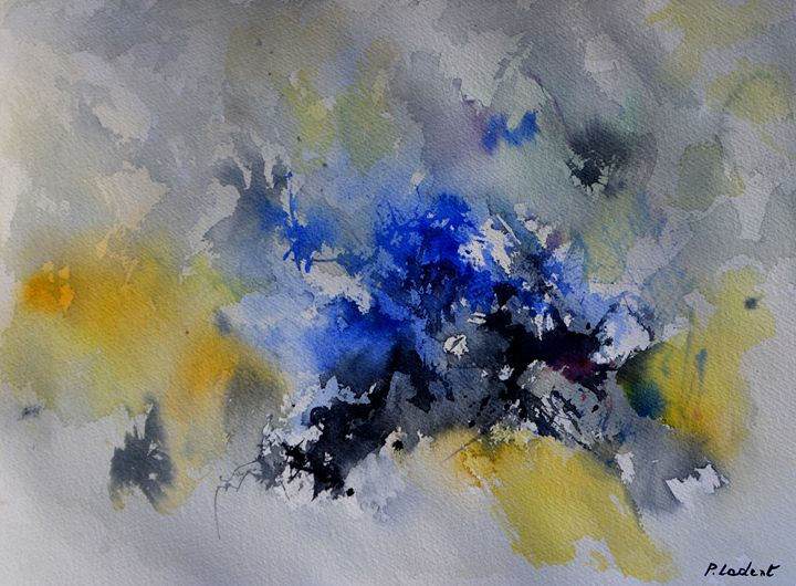 Blue flight - Pol Ledent's paintings