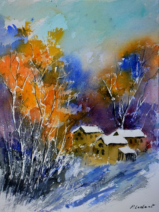 Watercolor 812031 - Pol Ledent's paintings
