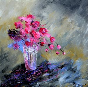 Chinese pink inspiration - Pol Ledent's paintings