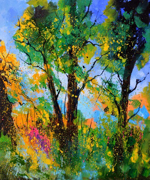 Summer landscape 8130 - Pol Ledent's paintings
