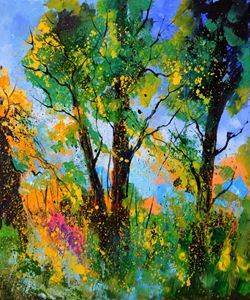 Summer landscape 8130 - Pol Ledent's paintings
