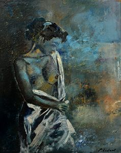 Roman nude - Pol Ledent's paintings
