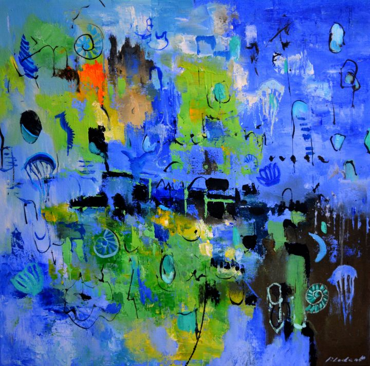 Deep sea - Pol Ledent's paintings