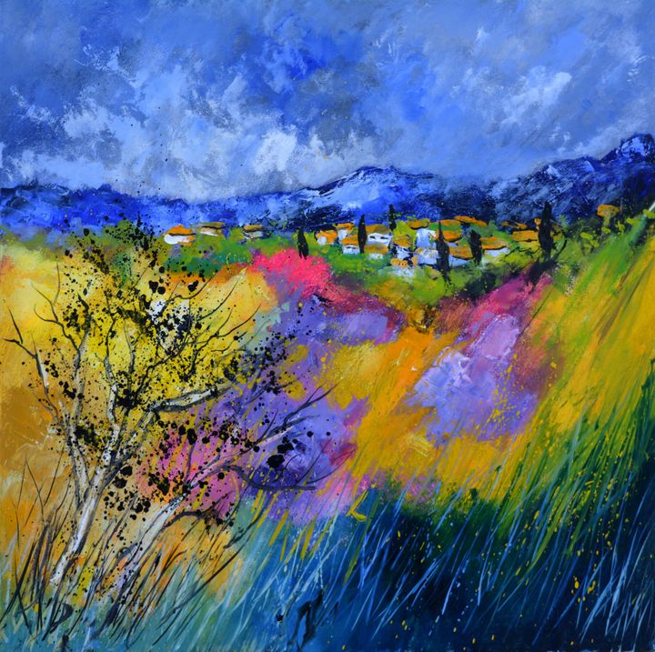 Colourful provence - Pol Ledent's paintings