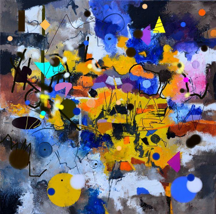 A bartender's raving - Pol Ledent's paintings