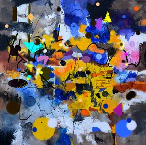 A bartender's raving - Pol Ledent's paintings