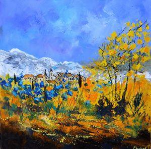 Joyful provence - Pol Ledent's paintings