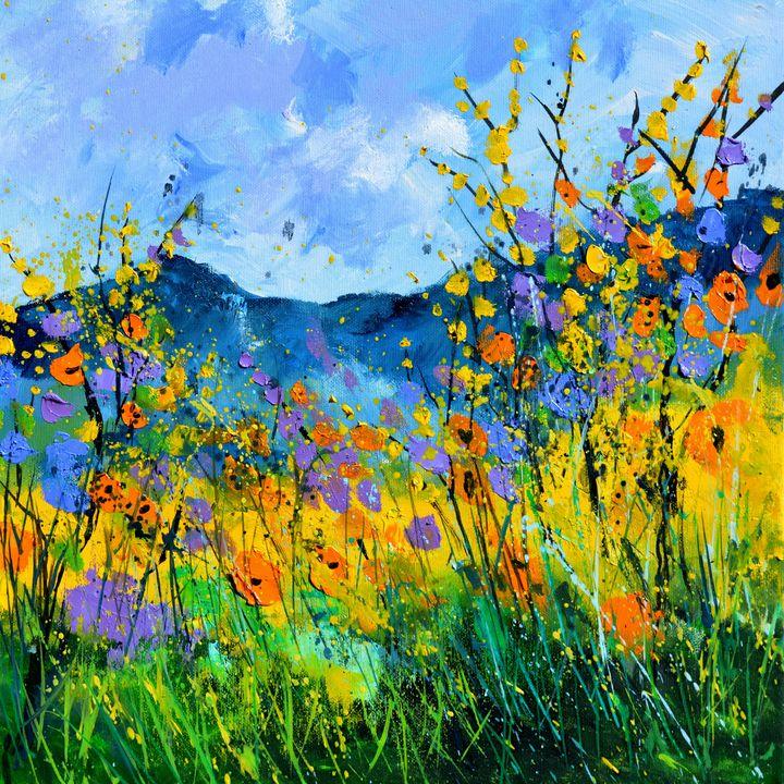 Summer flowers 44 - Pol Ledent's paintings