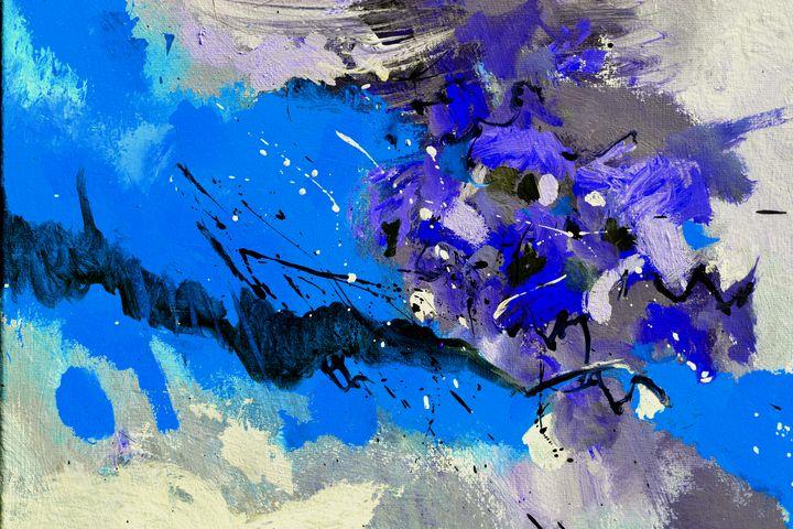 Blue sea - Pol Ledent's paintings