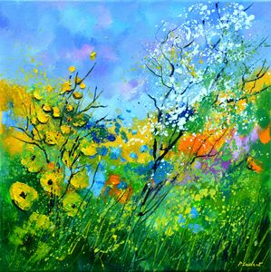 Summer flowers - Pol Ledent's paintings