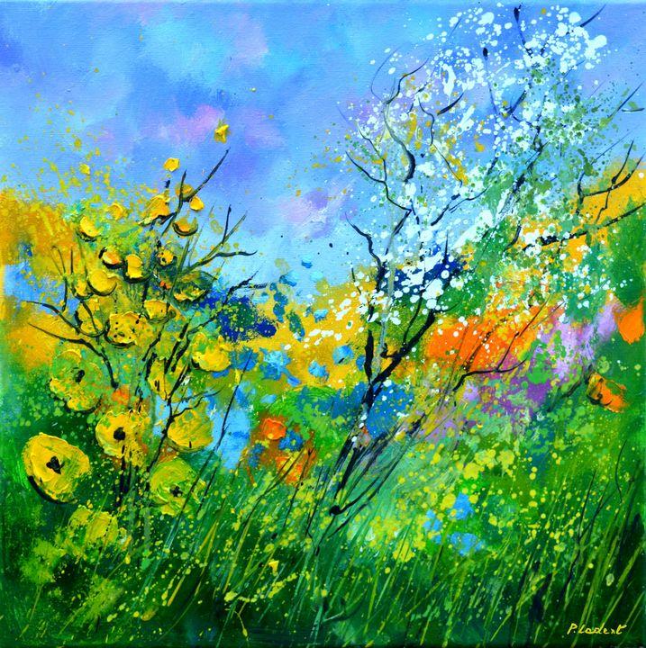 Summer flowers - Pol Ledent's paintings