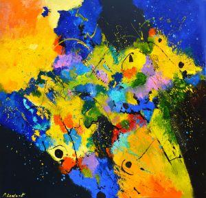 Diving in summer - Pol Ledent's paintings