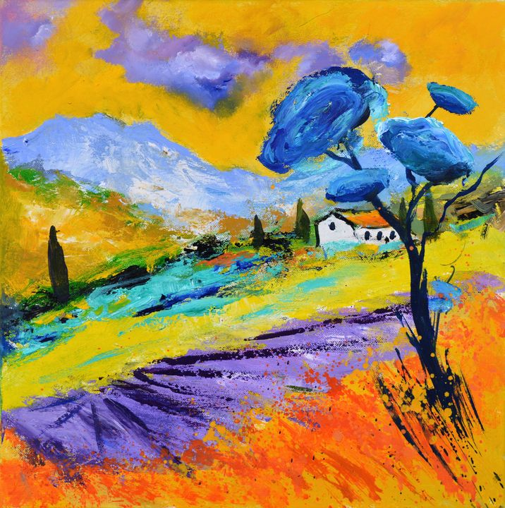 Provence 44 - Pol Ledent's paintings