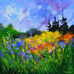 Summer yellow 44 - Pol Ledent's paintings