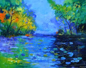 Nympheas 108 - Pol Ledent's paintings