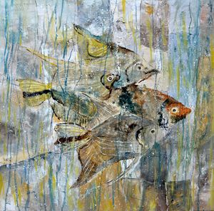 Angelfish - Pol Ledent's paintings