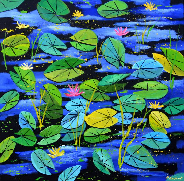 Nympheas 88 - Pol Ledent's paintings