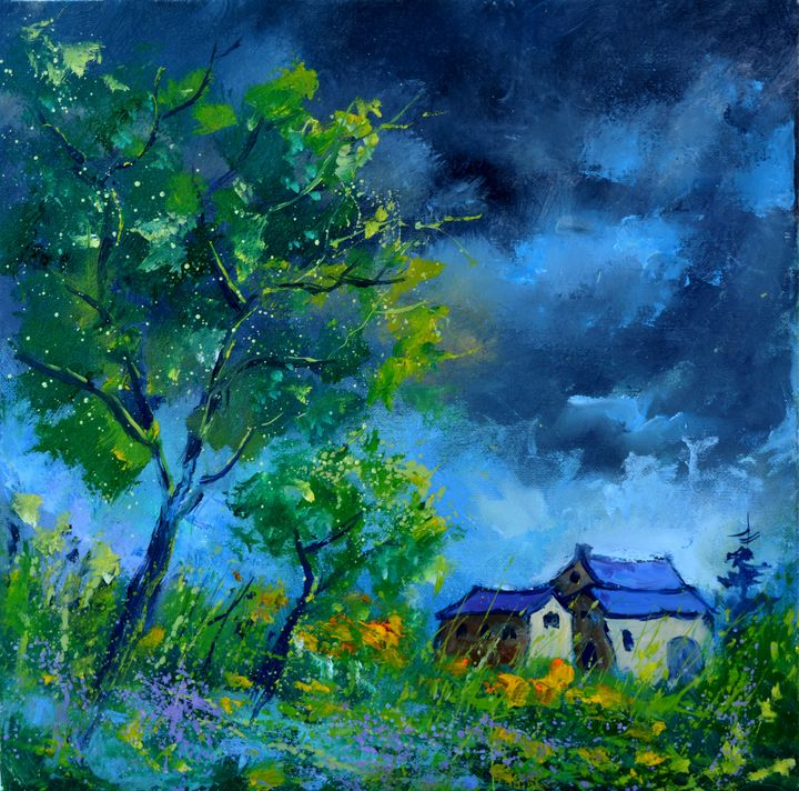 Before the storm - Pol Ledent's paintings