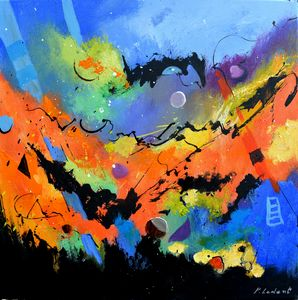 Magellan's travel - Pol Ledent's paintings