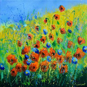 Poppies 4420 - Pol Ledent's paintings