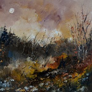 Autumnal moonshine - Pol Ledent's paintings